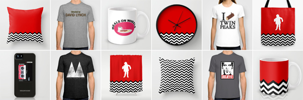 Twin Peaks and David Lynch t-shirts, hoodies, pillows and more