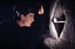 Cooper in owl cave
