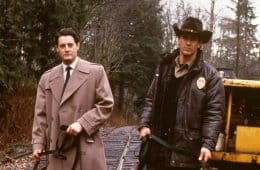Dale Cooper and Sheriff Truman