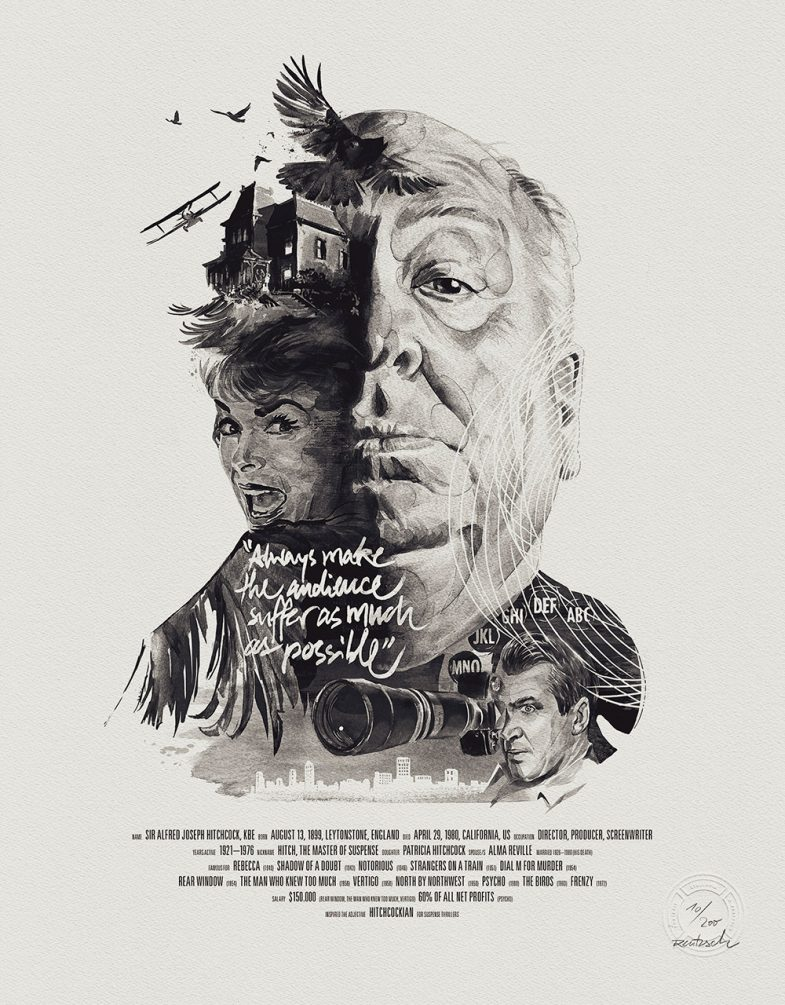 Julian Rentzsch - Alfred Hitchcock - Stellavie
