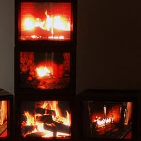 Fire (Walk With Me) video installation