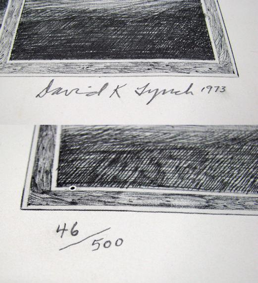 David Lynch Signature