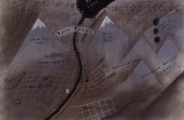 Twin Peaks Map by David Lynch