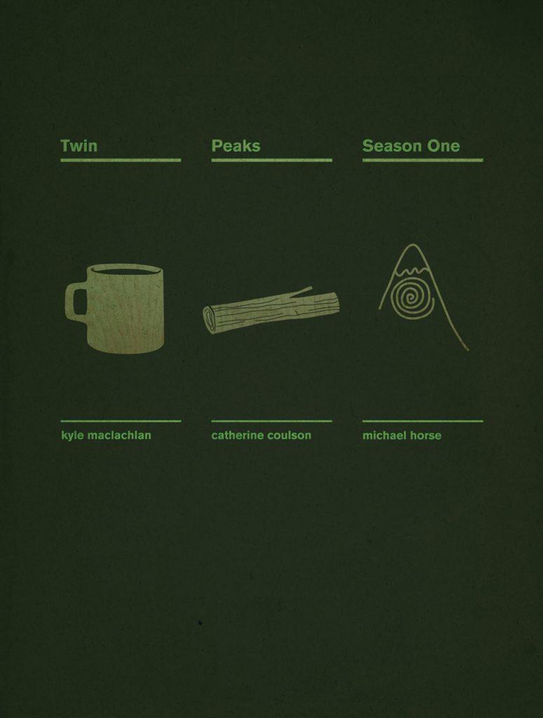 Twin Peaks Season One Poster
