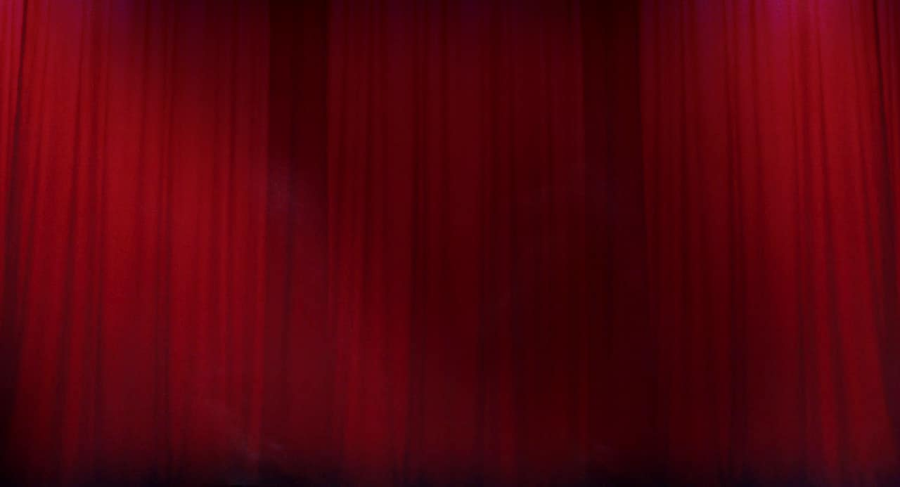 Twin Peaks Red Curtain Black lodge curtains
