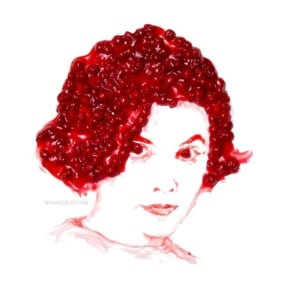 Delicious Dale Cooper, Audrey Horne And Other Twin Peaks Character Portraits Made With Cherry Pie Filling