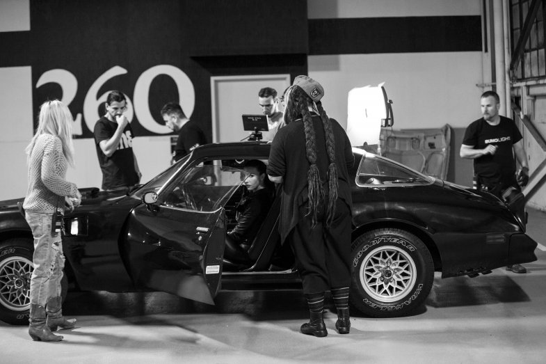 Chrysta Bell - Night Ride Behind The Scenes 04