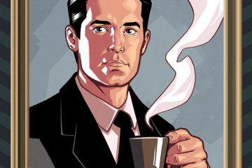 Dale Cooper by Chris Evenhuis