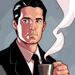 Twin Peaks Character Portraits, Comic Book Style