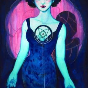 Dorothy In Blue Velvet - Veronica Fish