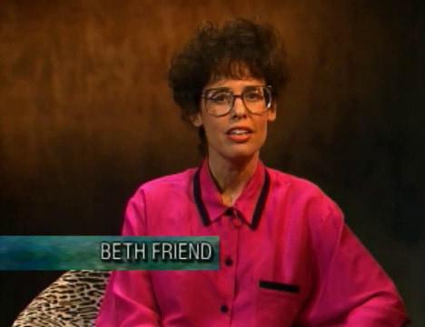 Inside Twin Peaks (1990): Beth Friend