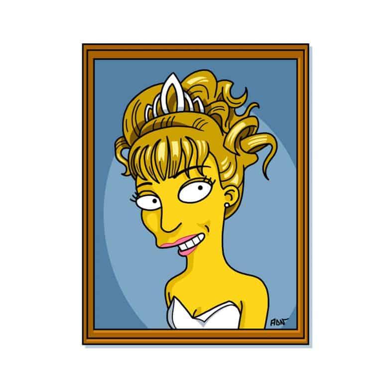 Laura Palmer Simpsonized by ADN