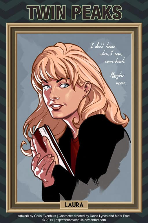 Laura Palmer by Chris Evenhuis