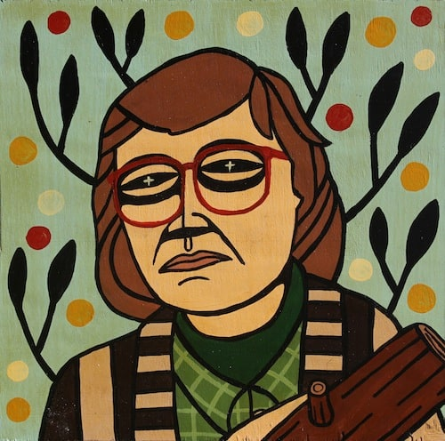 Log Lady by Mike Egan