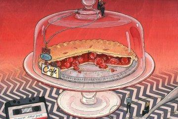 Nicole Gustafsson Slice of Pie and Damn fine Coffee