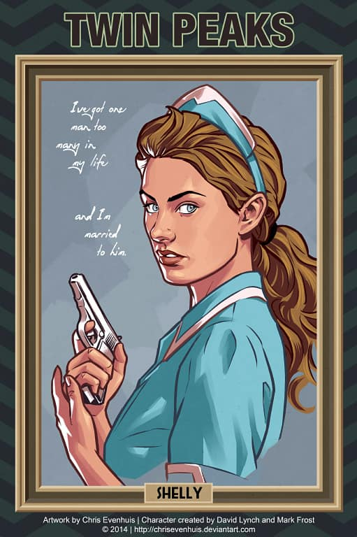 Shelly Johnson by Chris Evenhuis
