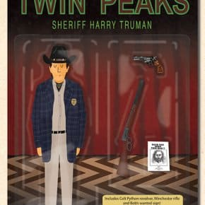 Sheriff Harry Truman Action Figure - Max Dalton
