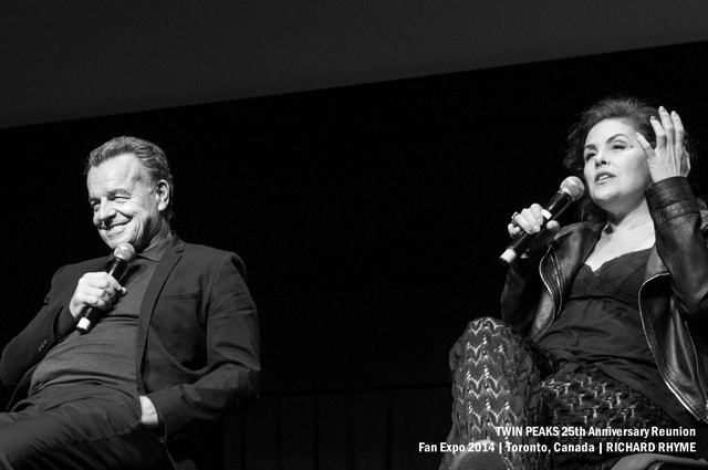 Twin Peaks Fan Expo: Ray Wise and Sherilyn Fenn