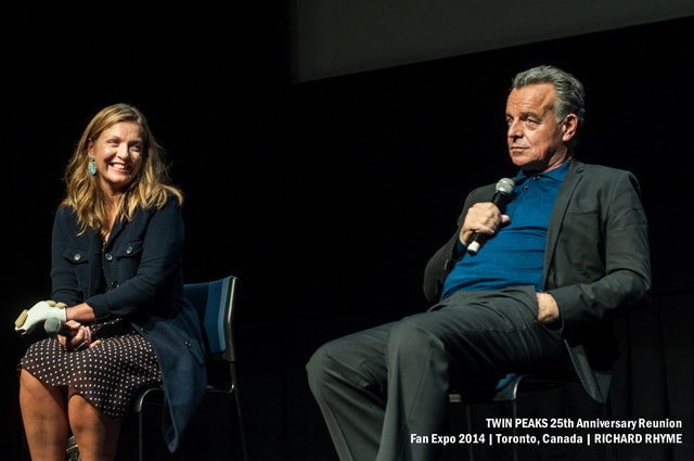 Twin Peaks Fan Expo: Sheryl Lee and Ray Wise