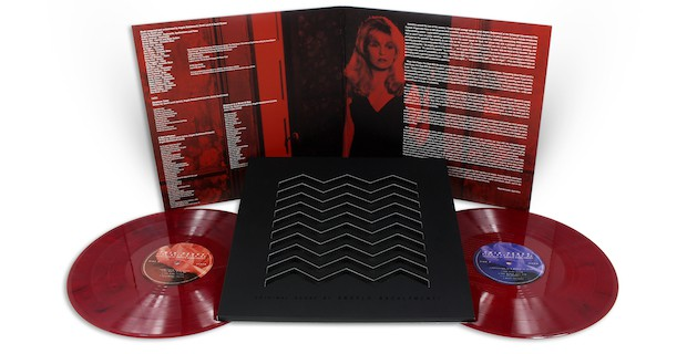 Twin Peaks - Fire Walk With Me VINYL Gatefold Discs