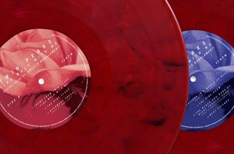 Twin Peaks Fire Walk with Me soundtrack vinyl reissue
