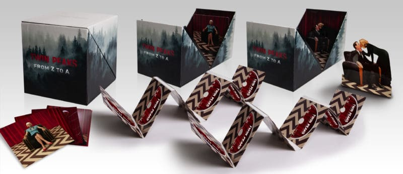 Twin Peaks From Z To A Box Set Packaging