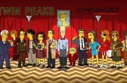 Twin Peaks Simpsonized by ADN