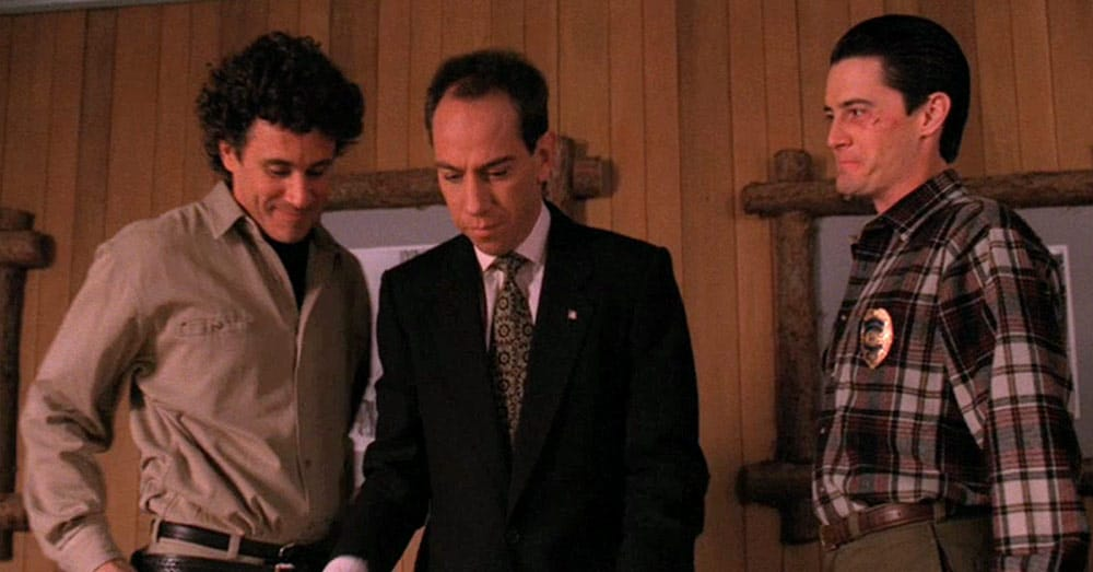 Rare Albert Rosenfield outtakes from Twin Peaks Episode 22