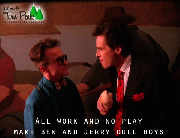 All work and no play make Ben and Jerry dull boys