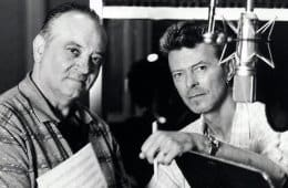 Angelo Badalamenti and David Bowie