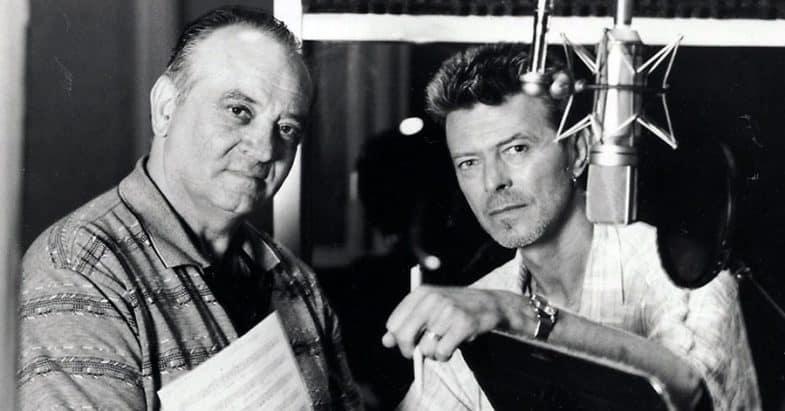 Angelo Badalamenti and David Bowie