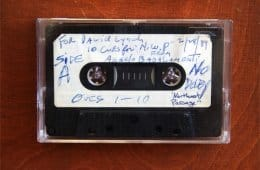 Angelo Badalamenti Twin Peaks Demo Tape for David Lynch