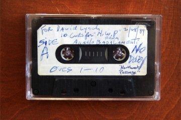 Angelo Badalamenti Twin Peaks Demo Tape for David Lynch