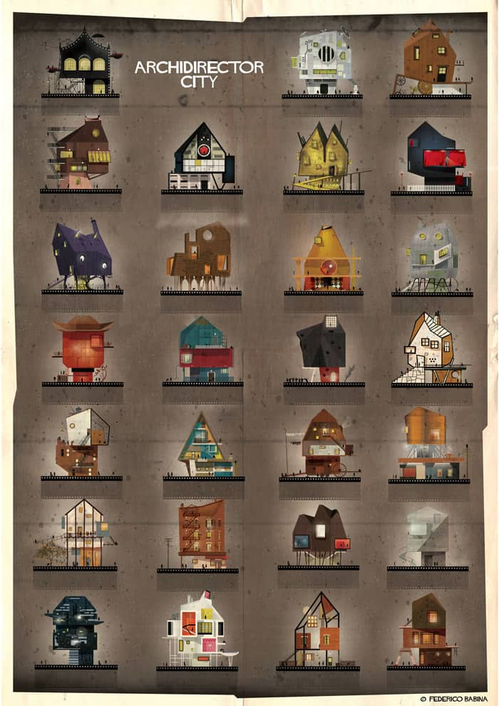 ARCHIDIRECTOR City by Federico Babina