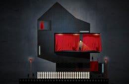David Lynch reiminaged as a building