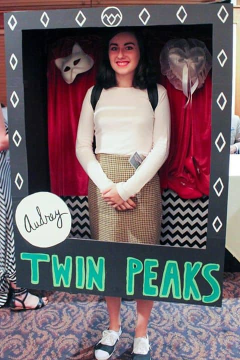 Audrey Horne action doll