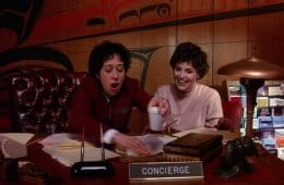 Audrey Horne and the styrofoam cup