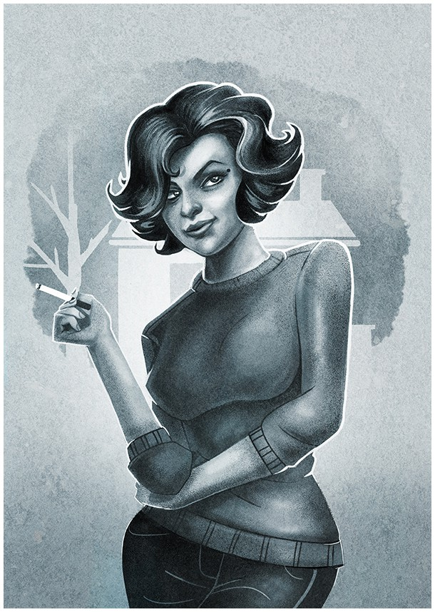 Twin Peaks Tribute by Muti: Audrey Horne