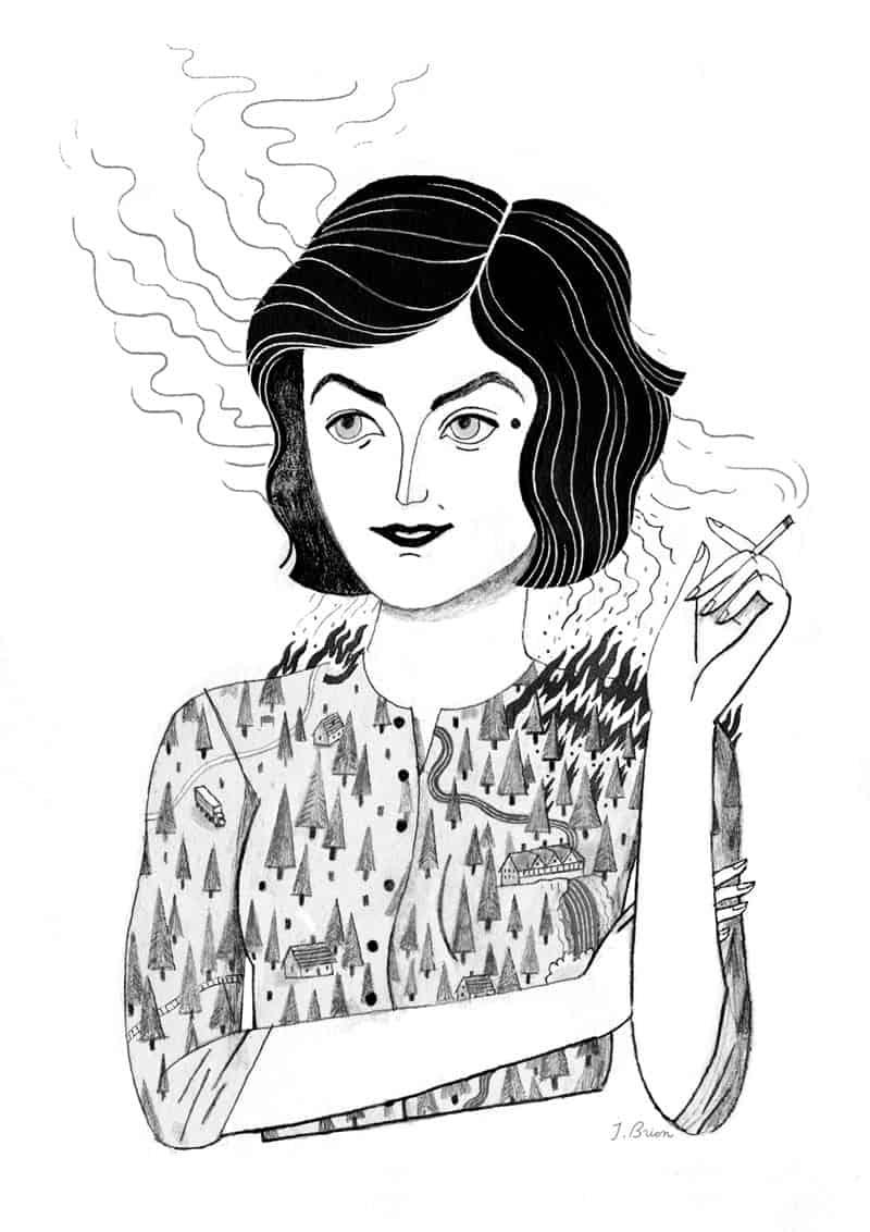 Audrey by Julianna Brion