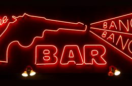 Bang Bang Bar Neon Sign - Twin Peaks Soundtrack
