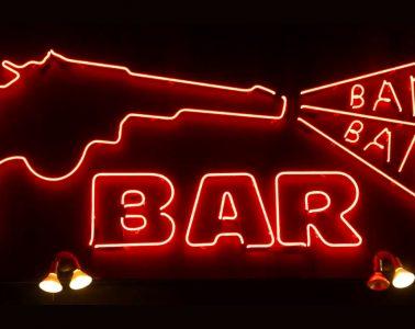 Bang Bang Bar Neon Sign - Twin Peaks Soundtrack