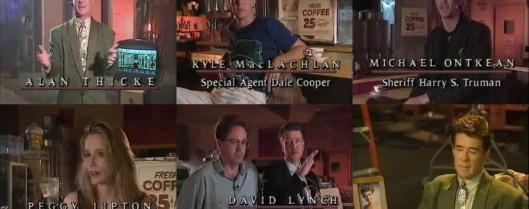 Alan Thicke goes Behind the scenes of Twin Peaks