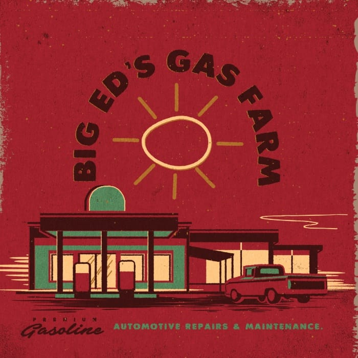 Big Ed's Gas Farm matchbook