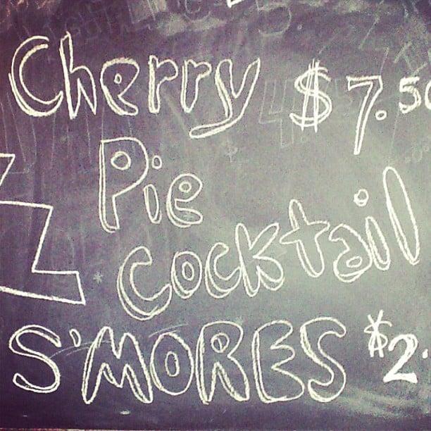 Cherry Pie cocktail