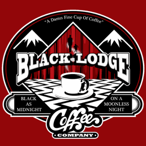 Black Lodge Coffee Company T-Shirt: $10 This Weekend Only