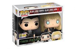 Black Lodge Cooper & Black Lodge Laura Twin Peaks Funko POP! Vinyl Toys