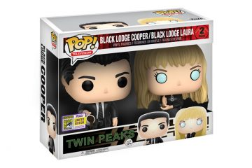 Black Lodge Cooper & Black Lodge Laura Twin Peaks Funko POP! Vinyl Toys