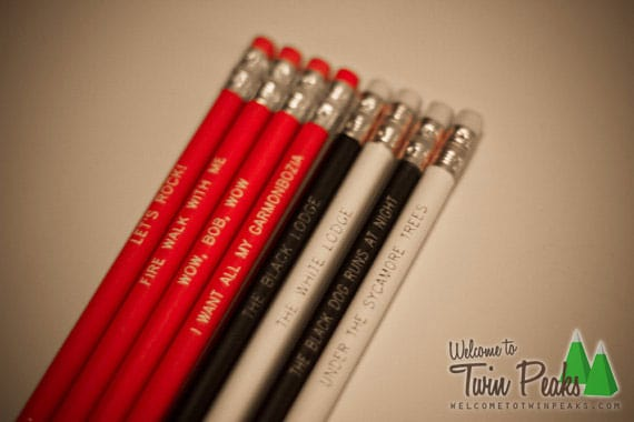 Twin Peaks - Black Lodge pencil set