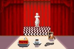 Black Lodge pixel art