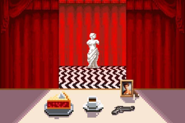Black Lodge pixel art